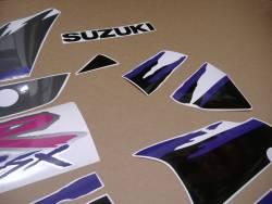 Suzuki GSXR 1100w 1993 grey replacement sticker set