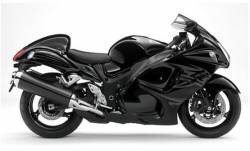 Suzuki Hayabusa 2011 L1 black 1340 model decal set