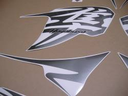 Suzuki Hayabusa 2011 L1 cowling pattern graphics kit