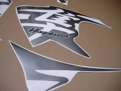 Suzuki Hayabusa 2011 L1 cowling pattern sticker set