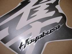 Suzuki Hayabusa 2011 L1 cowling pattern decal set