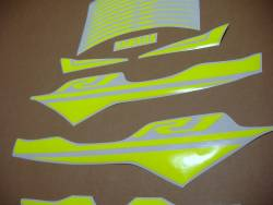 Neon yellow stickers for Yamaha R1 2015-2020 (2cr)