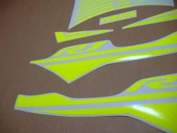 Fluorescent yellow decals for Yamaha R1 2015 (rn32)