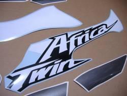 Honda Africa Twin 2019 grey model genuine style decals