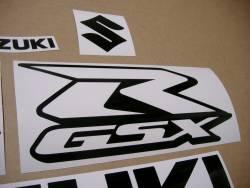 Decals for Suzuki gsxr 750 in black color