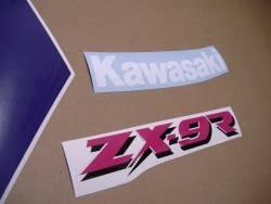 Kawasaki zx9r 1994 restoration graphics set