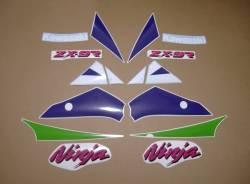 Kawasaki zx9r 1994 ninja oem style decals set
