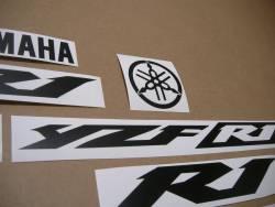 Yamaha YZF R1 graphics in custom satin black