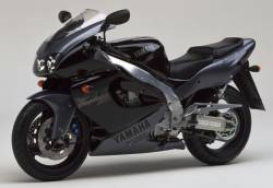 Yamaha YZF1000R Thunderace pattern mark decals