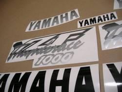 Yamaha YZF1000R Thunderace OEM style stickers set