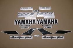 Yamaha YZF1000R Thunderace pattern mark stickers