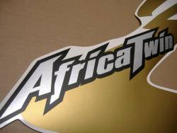 Graphics for Honda africa twin xrv750 black model