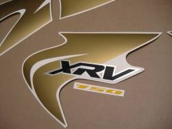Decals for Honda africa twin xrv750 black model