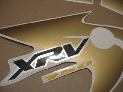 Honda XRV 750 2003 genuine style pattern decals set