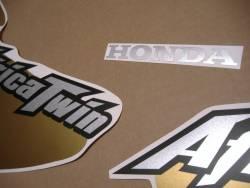 Honda africa twin 2003 black complete graphics set