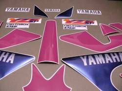 Yamaha YZF 750 SP special edition decals set