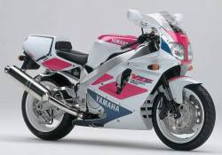 Yamaha YZF 750 SP white/pink version decals