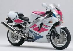 Ecoshirt CW-R0N7-VJOI Stickers Tmax F203 Stickers Aufkleber Decals Moto GP Bike White