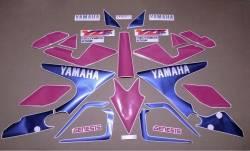 Yamaha YZF 750SP special edition restoration graphics
