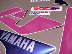 Yamaha YZF 750 SP special edition graphics kit