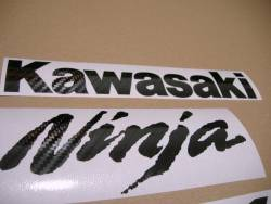 Decals (carbon look) for Kawasaki zx-14r 1400