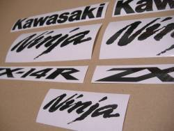 Stickers (carbon look) for Kawasaki zx-14r 1400