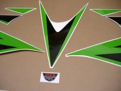 Honda CBR 1000 RR 2012 lime green custom graphics
