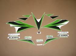 Decals (lime green) for Honda Fireblade 2012 HRC