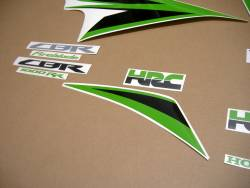Graphics (lime green) for Honda Fireblade 2012 HRC