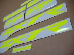 Sticker logo (fluo yellow) for Kawasaki ZX-7R ninja