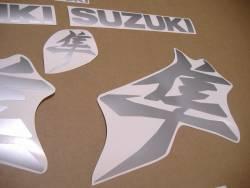Suzuki Hayabusa 2021 new model M1 matte grey decal set