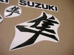 Suzuki Hayabusa 2021 new model M1 black decals