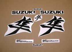 Suzuki Hayabusa M1 2021 new design black graphics