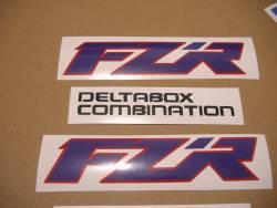 Yamaha FZR 1000 Exup 1993 replacement graphics set