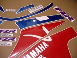 Yamaha FZR 1000 Exup 1993 restoration sticker set