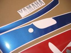 Decals for Yamaha FZR 1000 1993 white/red model