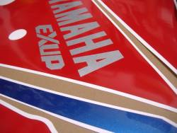 Stickers for Yamaha FZR 1000 1993 white/red version