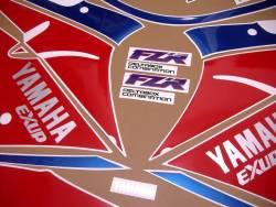 Yamaha FZR 1000 Exup 1993 replacement decals set