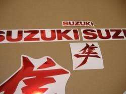 Suzuki Hayabusa 2021 M1 new version red chrome graphics