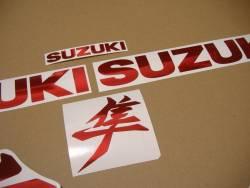 New style Kanji decals for Suzuki Hayabusa M1 3rd gen.