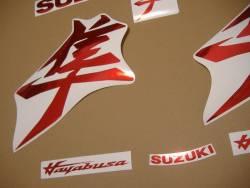 Decal set for Suzuki Hayabusa 2021 3rd generation