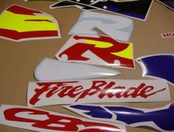 Honda CBR 919RR 1996 SC33 red logo graphics