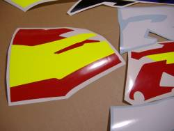 Honda CBR 919RR 1996 SC33 red decals kit