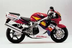 Honda CBR 919RR 1996 SC33 red decals kit