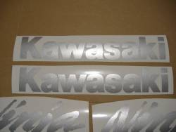 Kawasaki ZX-10R 2005 Ninja black stickers set