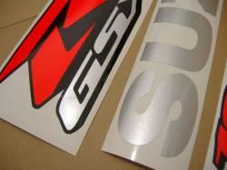 Suzuki GSXR 1000 2008 blue labels graphics