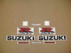 Suzuki GSXR 1000 2008 black decals