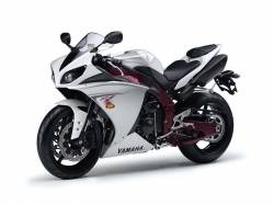 Yamaha R1 2009 RN22 white EU graphics set