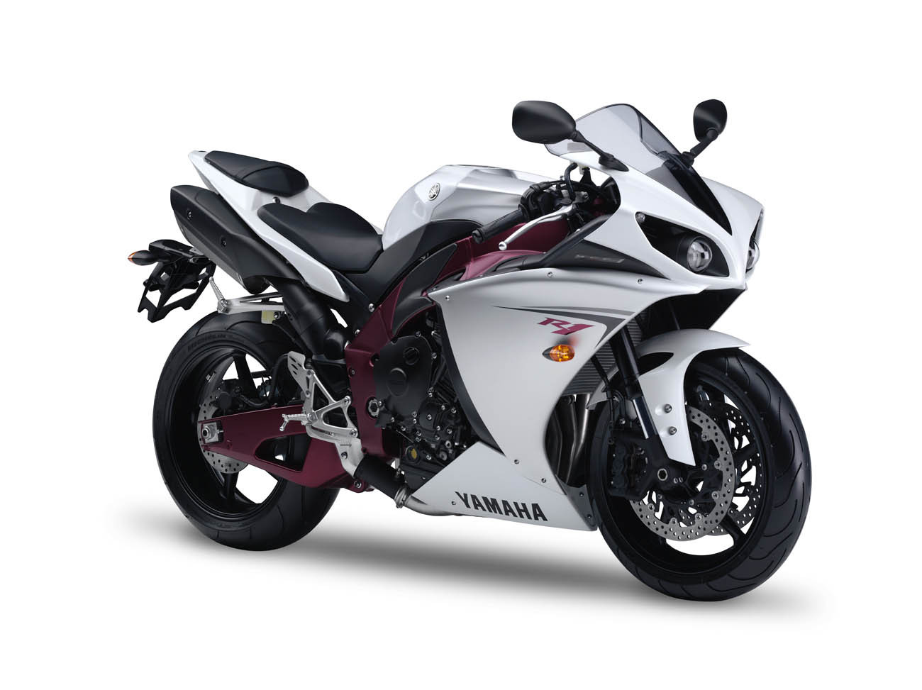 yamaha yzf r1 2009 rn22 14b decals set white red eu version moto. Black Bedroom Furniture Sets. Home Design Ideas