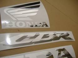 Honda 600RR 2007 black logo graphics